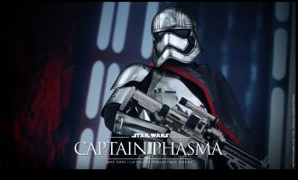 HOT TOYS MMS328 STAR WARS THE FORCE AWAKENS CAPTAIN PHASMA