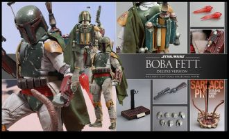 HOT TOYS MMS313 STAR WARS BOBA FETT DELUXE VERSION