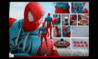 HOT-TOYS-VGM34-SPIDER-MAN-2019-TOY-FAIR-EXCLUSIVE-SPIDER-MAN-SCARLET-SPIDER-SUIT