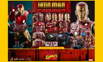 Hot Toys CMS08D38 DX Marvel Comics Iron Man The Origins Collection Deluxe Version Banner