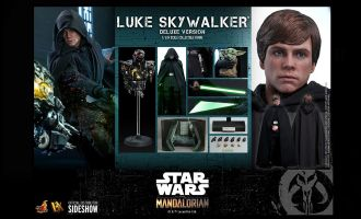 Hot Toys DX23 DELUXE VERSION Luke Skywalker Deluxe Version Star Wars The Mandalorian 1/6 Action Figure Banner