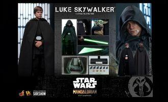 Hot Toys DX23 Star Wars The Mandalorian Action Figure 1/6 Luke Skywalker Banner
