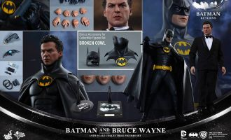 HOT TOYS MMS294 BATMAN RETURNS BATMAN AND BRUCE WAYNE