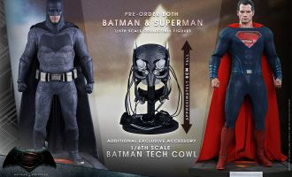 HOT_TOYS MMS342 BATMAN V SUPERMAN DAWN OF JUSTICE BATMAN & SUPERMAN EXCLUSIVE SET