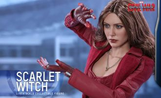 HOT TOYS MMS370 CAPTAIN AMERICA CIVIL WAR SCARLET WITCH