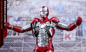 HOT TOYS MMS400D18 IRON MAN 2 IRON MAN MARK V DIECAST