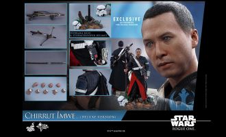 HOT TOYS MMS403 STAR WARS ROGUE ONE CHIRRUT IMWE EXCLUSIVE NORMAL