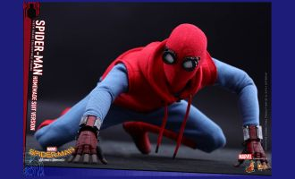 HOT TOYS MMS414 SPIDER-MAN HOMECOMING HOMEMADE SUIT VERSION NORMAL STOCK
