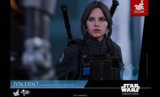 HOT TOYS MMS419 JYN ERSO IMPERIAL DISGUISE VERSION STAR WARS EXCLUSIVE VERSION
