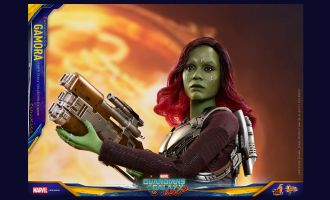 HOT TOYS MMS483 GURDIANS OF THE GALAXY VOL. 2 GAMORA