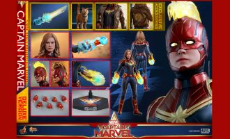 Hot Toys MMS522 Captain Marvel Captain Marvel Deluxe Version