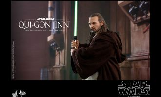 HOT TOYS MMS525 STAR WARS EPISODE I THE PHANTOM MENACE QUI-GON JINN