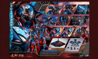 HOT TOYS MMS547D34 AVENGERS ENDGAME IRON PATRIOT