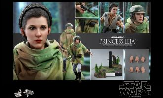 HOT TOYS MMS549 Princess Leia Star Wars Return of the Jedi Banner