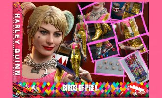 Hot Toys MMS565 Birds of Prey Harley Quinn Banner