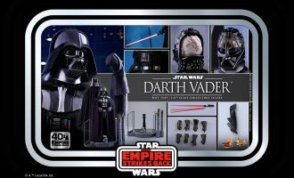 Hot Toys MMS572  Star Wars Darth Vader The Empire Strikes Back 40th Anniversary Collection Banner