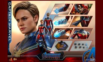 Hot Toys MMS575 Avengers Endgame Captain Marvel