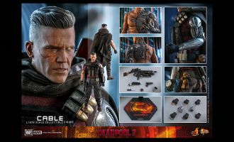 HOT TOYS MMS583 DEADPOOL 2 CABLE BANNER