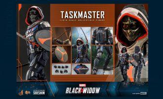 HOT TOYS MMS602 Black WIDOW Taskmaster Banner