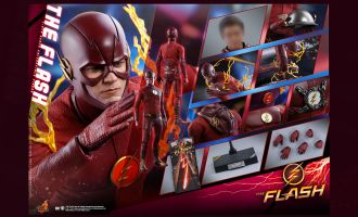 Hot Toys TMS009 The Flash Barry Allen The Flash Banner