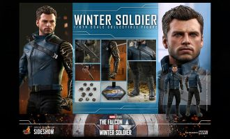 Hot Toys TMS039 The Falcon and The Winter Soldier Winter Soldier Banner