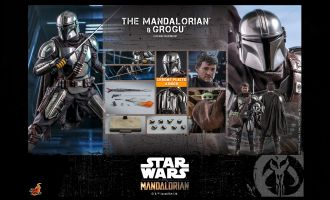 Hot Toys TMS051 The Mandalorian and Grogu  Star Wars The Mandalorian 1/6 action figure Banner