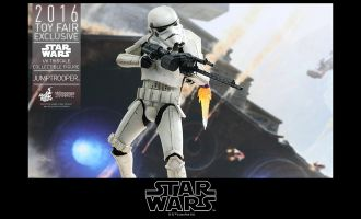 HOT TOYS VGM23 2016 TOY FAIR EXCLUSIVE STAR WARS JUMPTROOPER 1