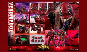 HOT TOYS VGM35 MARVEL CONTEST OF CHAMPIONS VENOMPOOL BANNER