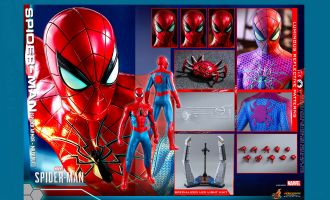Hot Toys VGM43 Spider-Man Spider Armor MK IV Suit Marvel's Spider-Man Banner