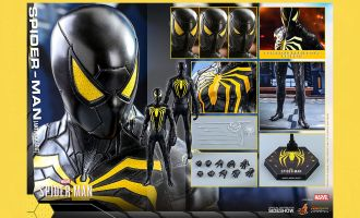 Hot Toys VGM44 Marvel's Spider-Man Anti-Ock Suit banner