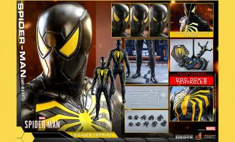 Hot Toys VGM45 DX Marvel's Spider-Man Anti-Ock Suit Deluxe Version Banner