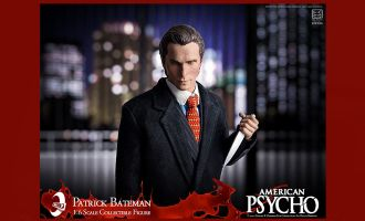 ICONIQ studio IQSS-01 American Psycho Patrick Bateman Christian Bale 1/6 Action figure Banner