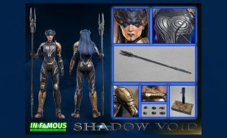 IN-FAMOUS IF002 The Shadow Void 1/6 Proxima Media Nox Avengers Infinity War Banner