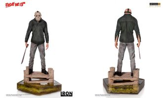 Iron-Studios-Friday-the-13th-Deluxe-Art-Scale-Statue-1/10-Jason