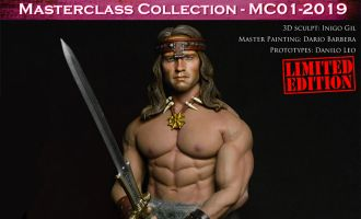 Kaustic Plastik MC01-2019 MC01-HEAD Masterclass Collection Kit Conan With Body Tbleague M35 The Barbarian