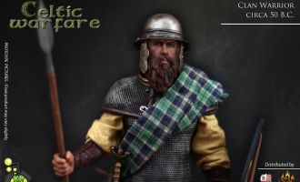Kaustic Plastik Clan Warrior KP11A Celtic Warfare