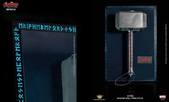 KING ARTS MPS018 1/1TH AVENGERS 2 THOR MJOLNIR WALL FIXED STYLE