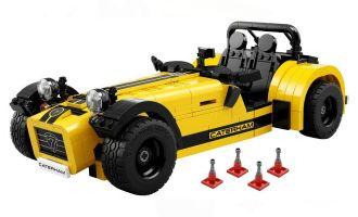 LEGO 21307 IDEAS Caterham Seven 620R Banner