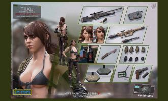 LIMTOYS LIM006D Metal Gear Solid Quiet TIIXIJ Guilty BUTTERFLY Light Gear Version Deluxe version