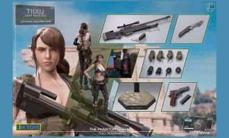 LIMTOYS LIM006R METAL GEAR SOLID QUIET TIIXIJ SINFUL BUTTERFLY Light Gear Ver Regular version
