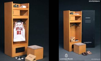 Enterbay OR-1003 NBA Locker Room Official 1/6 Scale