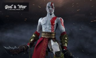 MOMTOYS TS008 1/6 GOD & WAR KRATOS