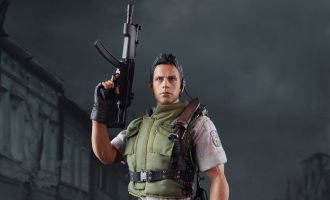 MOMTOYS TS009 RESIDENT EVIL 5 CHRIS REDFIELD STAR VERSIONE