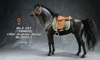 Mr.Z MRZ051-1S Arabian Horse Set horse harness Black Zorro