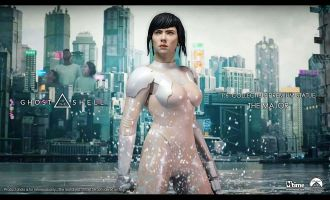MTIME GHOST IN THE SHELL THE MAJOR MOVIE ACCURATE STATUE