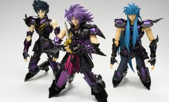 MYTH CLOTH SAINT CLOTH EX BROKEN SURPLICE SET Gemini Saga, Aquarius Camus e Capricorn Shura