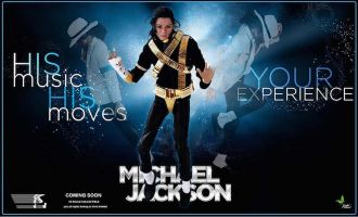 TOYS POWER MICHAEL JACKSON DANGEROUS WORLD TOUR