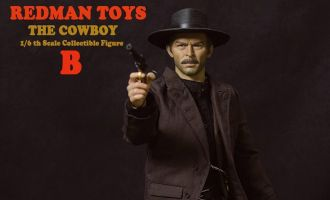 REDMAN RM008 TOYS THE GOOD THE BAD THE UGLY LEE VAN CLEEF SENTENZA