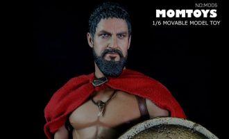 MOMTOYS M006 ANCIENT GREEK WARRIOR WOLF 300 LEONIDA