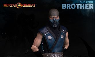 WORLDBOX LIMITED MORTAL KOMBAT SUB-ZERO 2.0 BROTHER